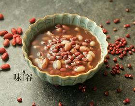花生眉豆红豆糖水