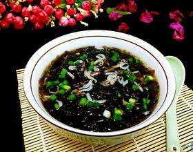 紫菜虾米汤