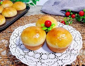 燕麦片苹果面包