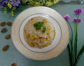 玉米粒炒饭