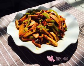 青椒炒香干