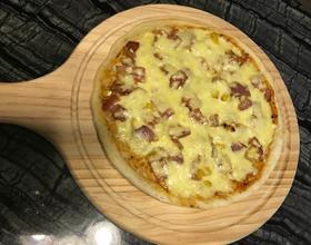 培根粟米洋葱披萨