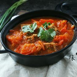 牛腩番茄汤的做法[图]