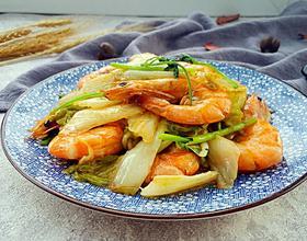 大白菜炖虾[图]