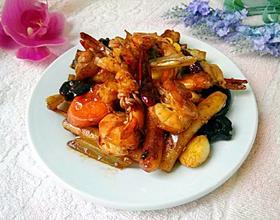 麻辣海鲜锅