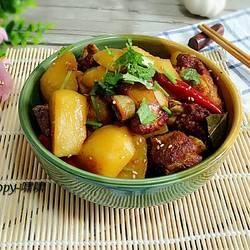 排骨烧土豆的做法[图]