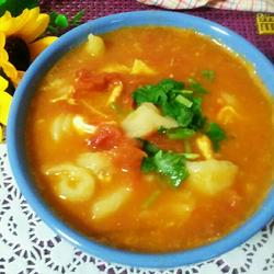 营养拨鱼面汤