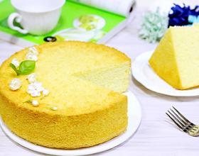 戚风椰蓉蛋糕