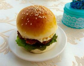 自制牛排汉堡包