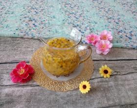 鸡蛋果蜂蜜柚子茶