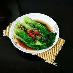 水灼小白菜的做法[图]