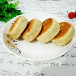 三合面发面饼