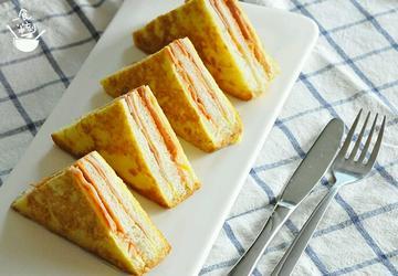 黄金土司三文治