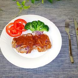 茄汁烤猪排的做法[图]