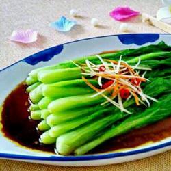 白灼小白菜的做法[图]