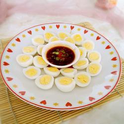 蒜蓉豉汁鹌鹑蛋的做法[图]