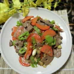 炒猪肝的做法[图]