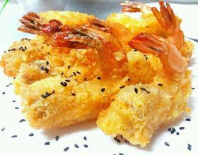 黄金凤尾虾