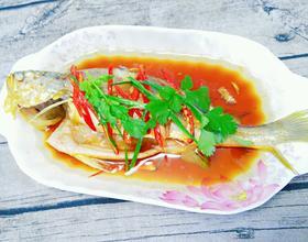 豉油蒸黄鱼