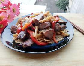 牛肉炒萝卜干