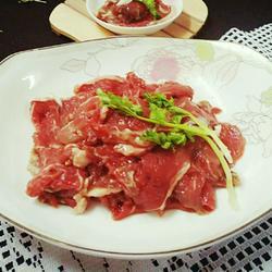 腌制牛肉(火锅版)的做法[图]