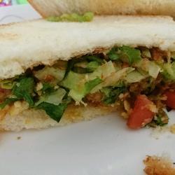 薯片蔬菜三明治的做法[图]