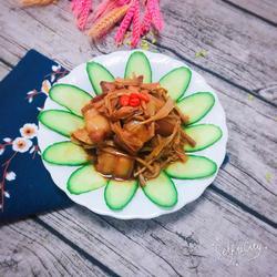 黄花菜炖肉