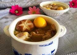 西洋参母鸡汤