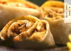 蟹粉小笼包鼻祖,唐代烧尾宴名菜——金银夹花平截