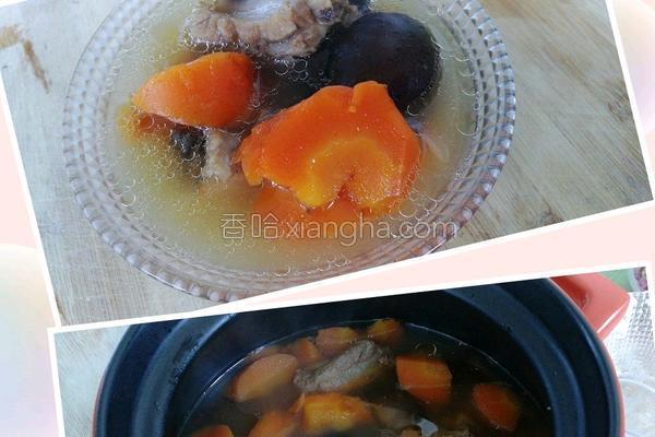 红萝卜炖菜谱的排骨_菜谱_香哈网百做法吃席百科夏天图片