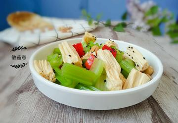 涼拌芹菜腐竹