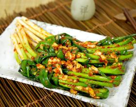 炎热的夏天,尝尝超爽口的小葱泡菜吧