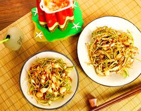 深夏时节,天气炎热,介绍一款爽口下饭的小菜-拌小根菜