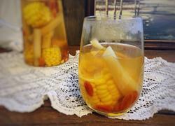 甘蔗玉米热汤饮
