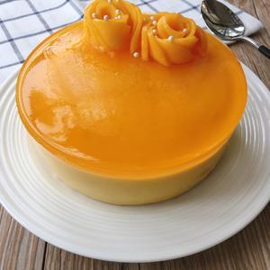 芒果酸奶慕斯蛋糕已经完成啦!👏👏👏[图3]