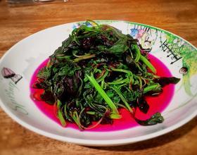 麻油苋菜[图]