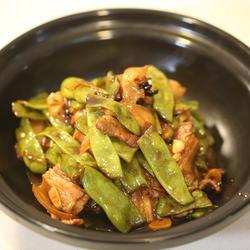 扁豆焖肉的做法[图]