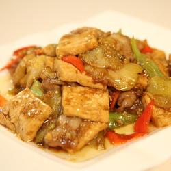 豆腐焖茄子的做法[图]