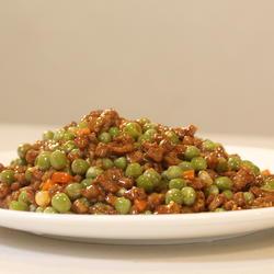 鲜豌豆牛肉粒的做法[图]