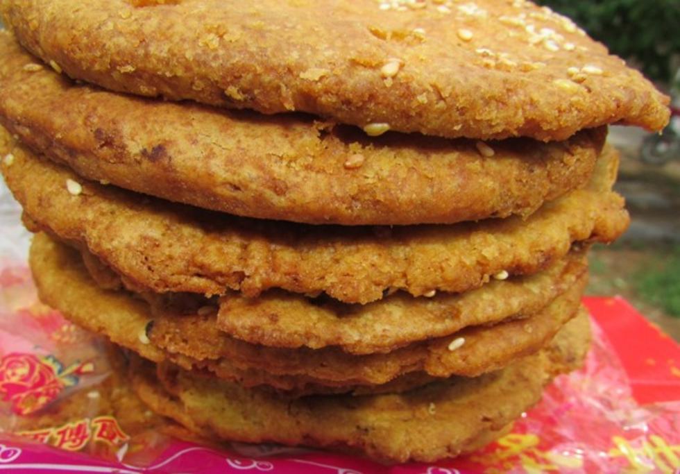 灵丘黄烧饼