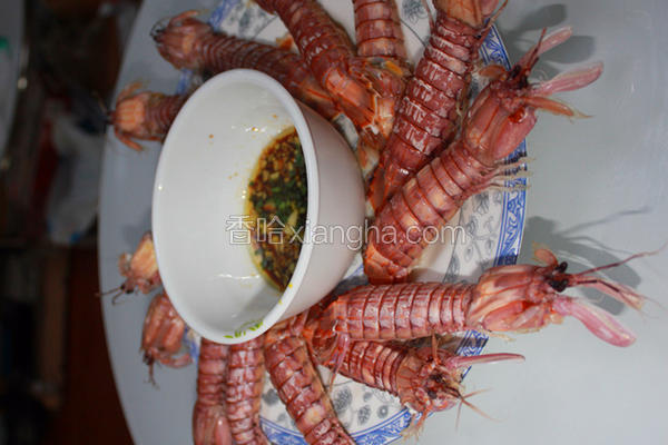 白灼皮皮虾