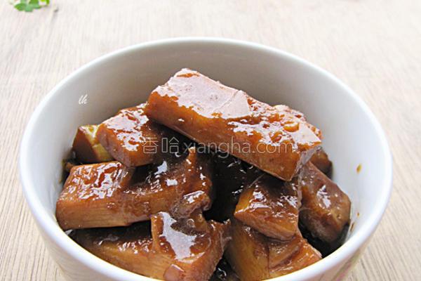 酱香焖春笋的做法