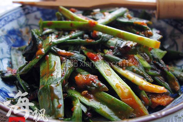 韩式拌韭菜的做法