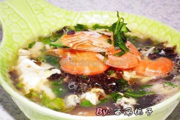 紫菜海鲜汤的做法