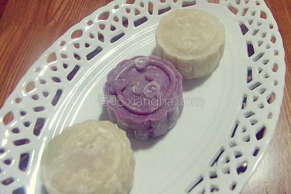 冰皮月饼的做法