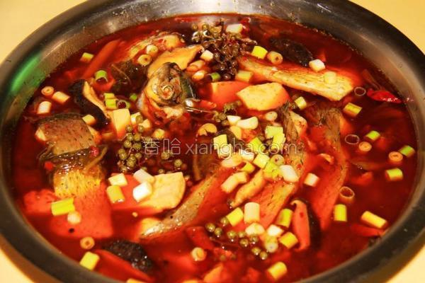 重庆椒麻水煮鱼的做法
