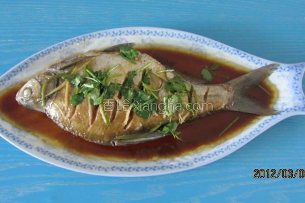 清蒸鳊花鱼的做法