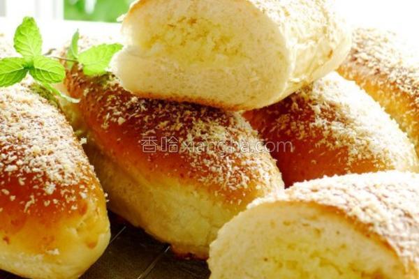 椰子奶酥包的做法
