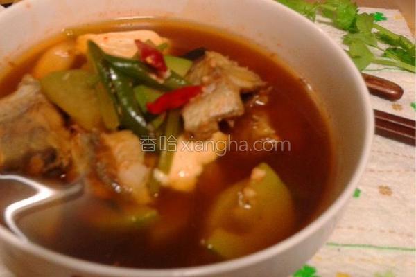 韩式辣明太鱼汤的做法