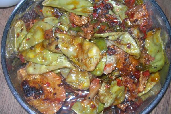 五花肉炒扁豆的做法